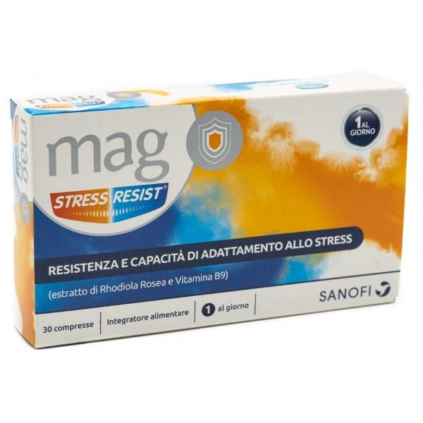 MAG STRESS RESIST 30 COMPRESSE (scadenza 03/20) - FARMAPRIME