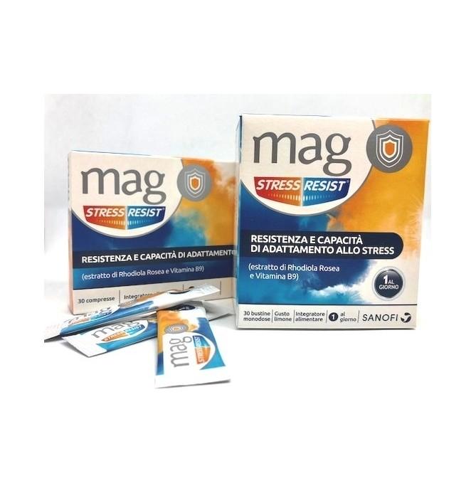 MAG STRESS RESIST INTEGRATORE MAGNESIO 30 COMPRESSE - Farmastar.it