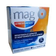 MAG STRESS RESIST 30 BUSTINE MONODOSE - Farmabaleno