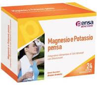 MAGNESIO E POTASSIO ARANCIA PENSA 24 BUSTINE EFFERVESCENTI - DrStebe