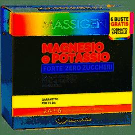 MAGNESIO POTASSIO FORTE ZERO Z 24 BUSTINE + 6 BUSTINE - Farmabenni.it