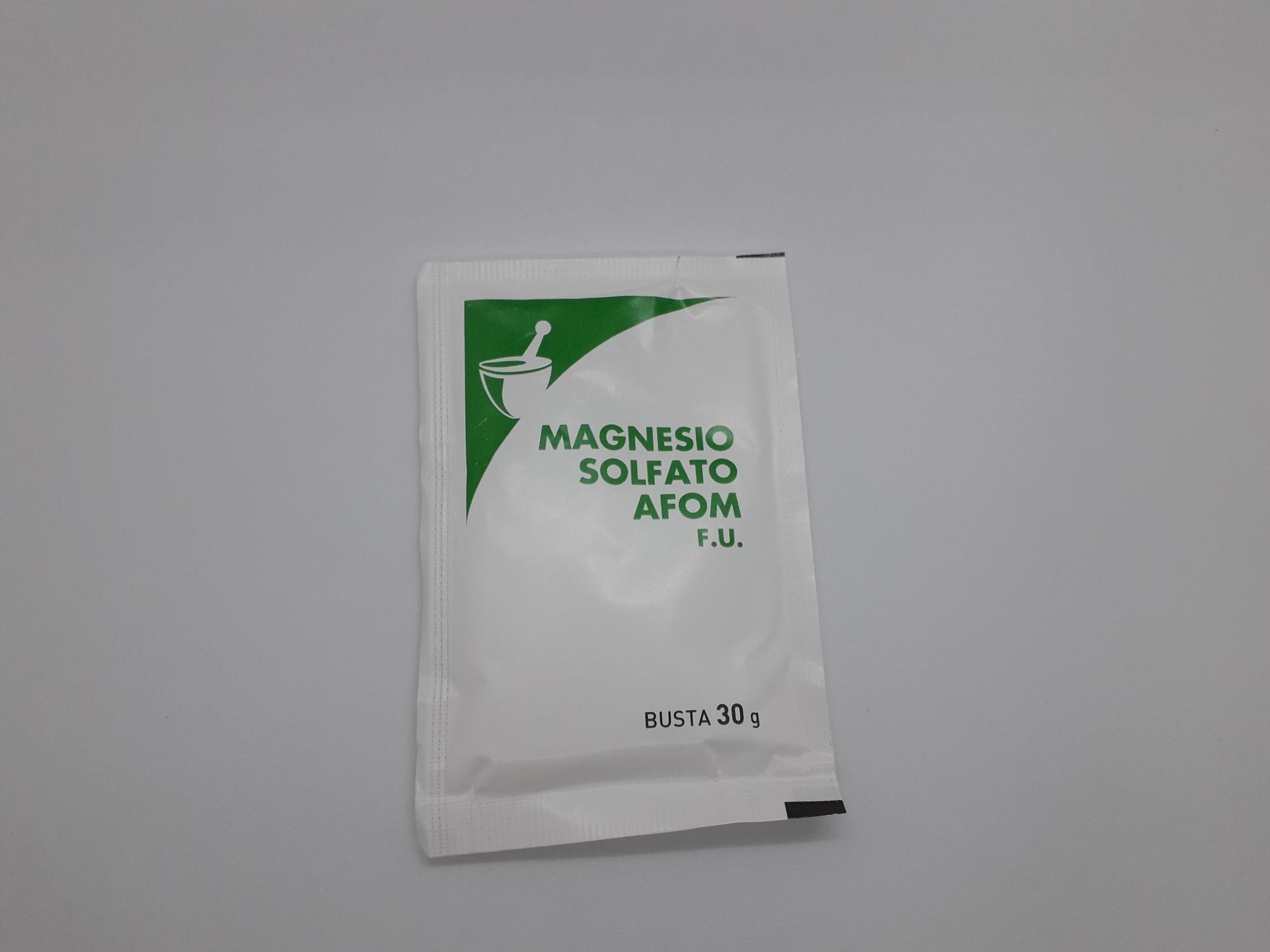 MAGNESIO SOLFATO 30 G - Farmaciaempatica.it