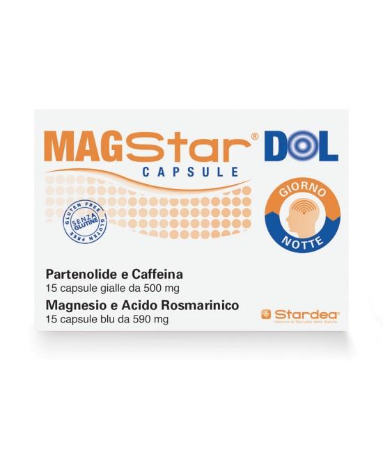 MAGSTAR DOL 30 CAPSULE - Parafarmacia la Fattoria della Salute S.n.c. di Delfini Dott.ssa Giulia e Marra Dott.ssa Michela