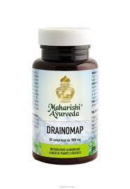 Maharisci Ayurveda Drainomap 60 compresse - Iltuobenessereonline.it