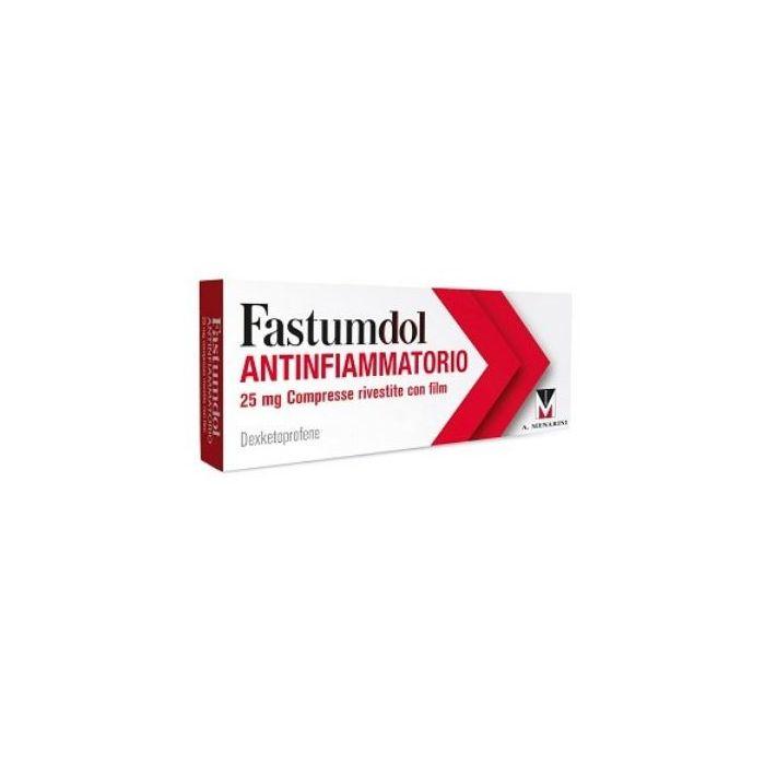 Fastumdol Antifiammatorio 20 cpr rivestite 25mg  - Farmacia Castel del Monte