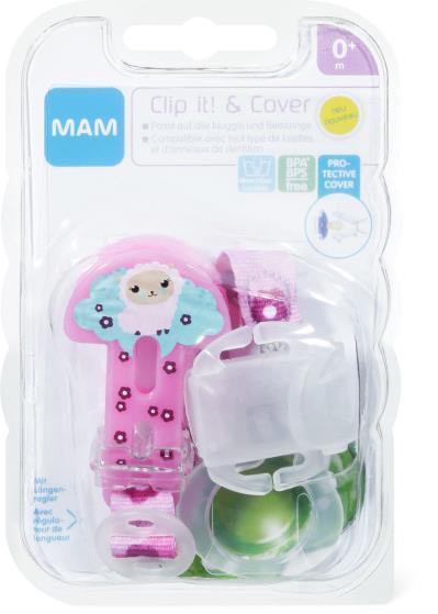 Mam Clip It & Cover 0+ Mesi - Farmalilla