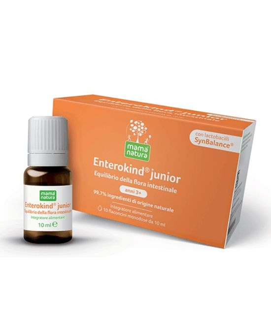 MAMA NATURA ENTEROKIND JUNIOR 10 FLACONCINI 10 ML - Farmapage.it
