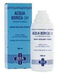 Marco Viti Acqua Borica DM Bagno Oculare Sterile 500ml - Farmacia 33