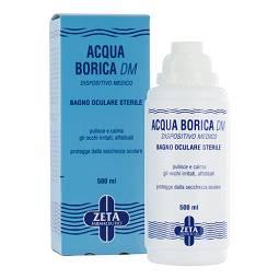 ACQUA BORICA PER BAGNO OCULARE STERILE 500 ML - Zfarmacia