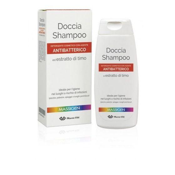 MASSIGEN DETERGENZA DOCCIA SHAMPOO ANTIBATTERICO 200 ML - Farmaciasconti.it