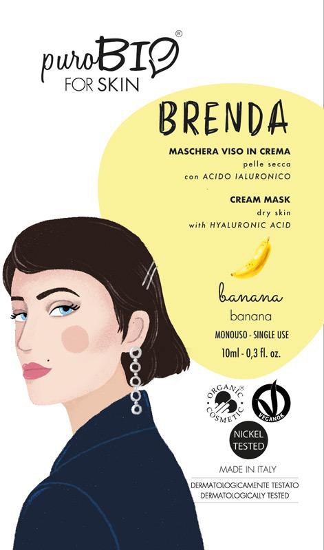 MASCHERA VISO BRENDA PUROBIO 02 - Parafarmaciabenessere.it