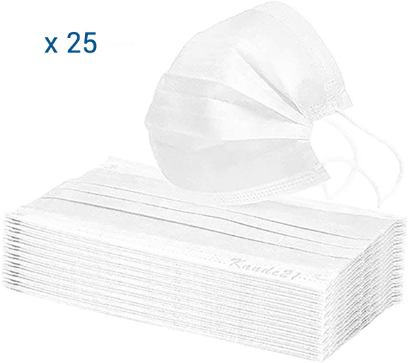 Mascherina chirurgica 25 pcs - Farmacia della salute 360
