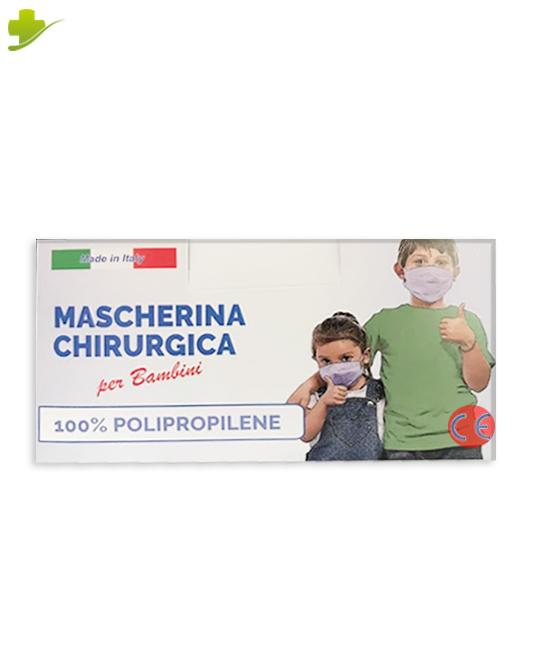 Mascherina Chirurgica Per Bambini usa e getta pacco da 50 pezzi - Farmastar.it