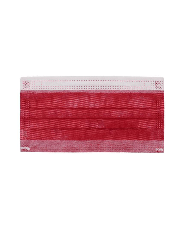 Mascherine chirurgiche Cuterina Kids per bambini e ragazzi - colore rosso bordeaux - 10 pezzi - Farmalke.it
