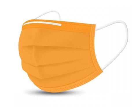 Mascherine Chirurgiche CE Colorate - Colore Arancio - (Conf. da 10 pezzi)  - Farmaconvenienza.it