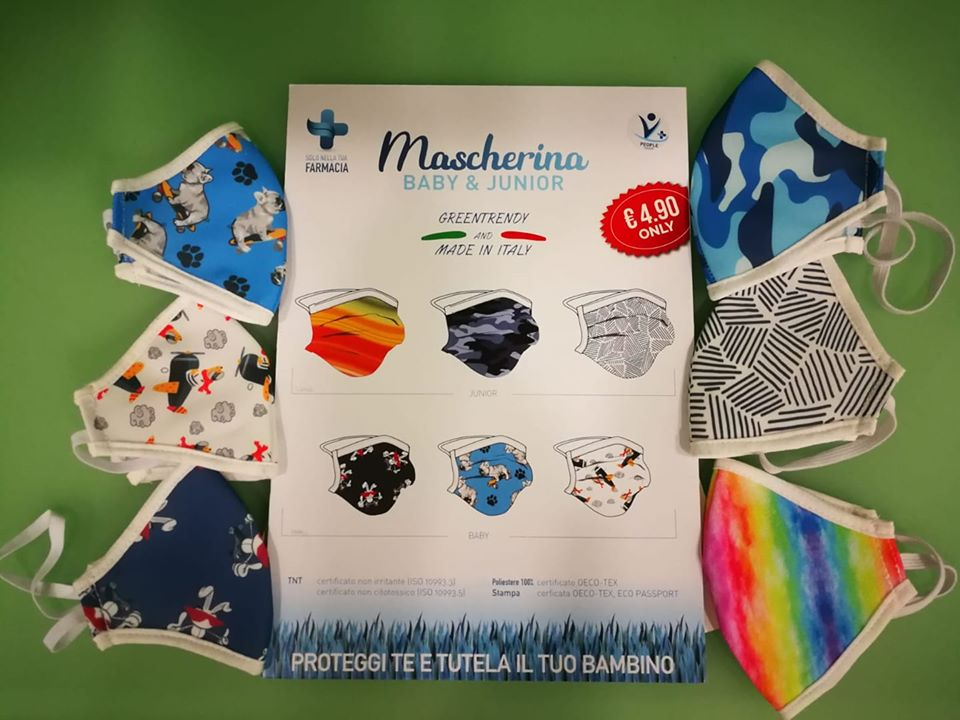 MASCHERINA LAVABILE BABY - Farmaciapacini.it