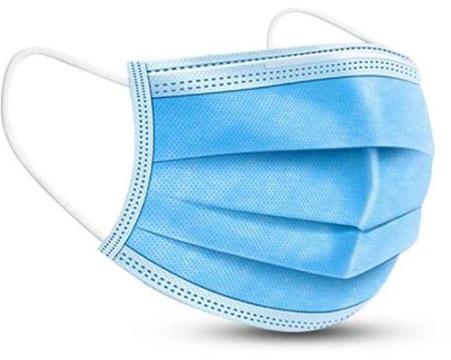 Mascherina Chirurgica Monouso 3 veli confezione 50 pezzi DISPONIBILITÀ IMMEDIATA  - Farmacia Castel del Monte