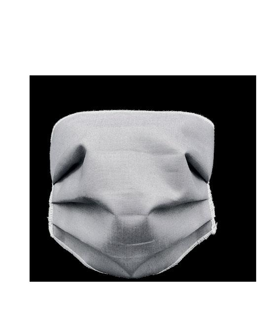 Mascherina Protettiva lavabile fino a 60 volte Adulto Antracite - latuafarmaciaonline.it