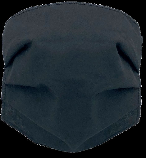 Mascherina Protettiva lavabile fino a 60 volte Adulto Nera - latuafarmaciaonline.it