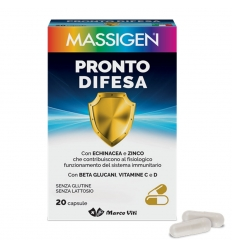 MASS PRONTO DIFESA 20 CAPSULE - Farmabaleno