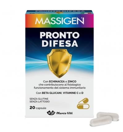 MASSIGEN  PRONTO DIFESA 20 CAPSULE - FARMAPRIME
