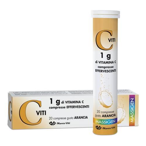 DAILYVIT+ C VITI 1G DI VITAMINA C EFFERVESCENTE 20 COMPRESSE - Farmacia Bartoli