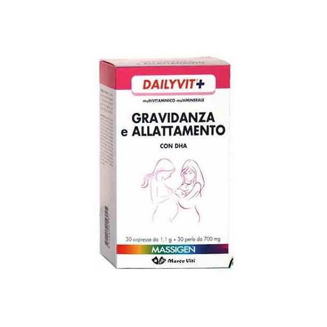 massigen dailyvit+ gravidanza con dha 30+30 - Zfarmacia