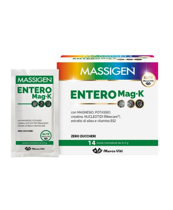 MASSIGEN ENTERO MAGNESIO-POTASSIO 14 BUSTINE - Farmapage.it