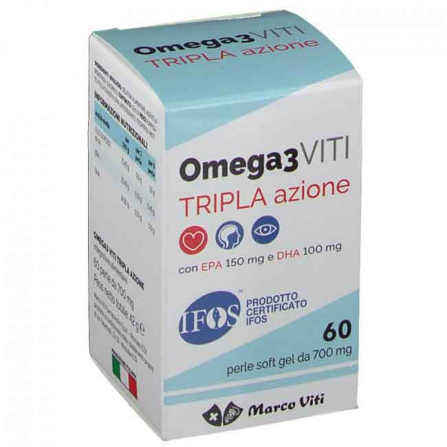 MASSIGEN OMEGA 3 TRIPLA AZIONE 60 PERLE - Farmafamily.it