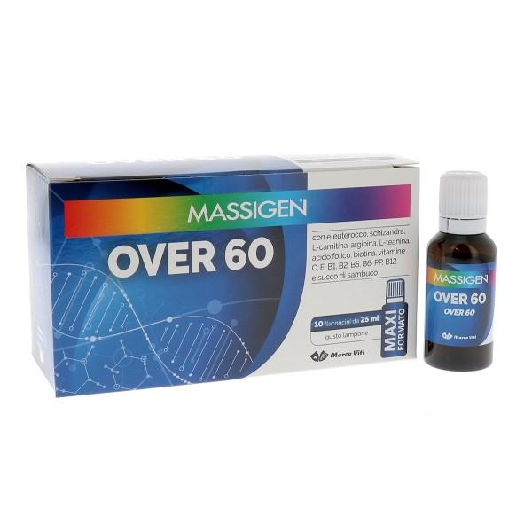 MASSIGEN OVER 60 10 FLACONI DA 25 ML - Speedyfarma.it
