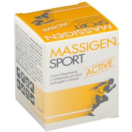 Massigen Sport Active Crema 100ml - Farmafamily.it