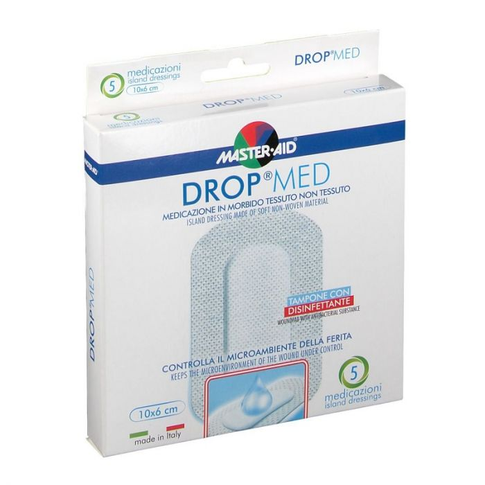 Master-Aid Drop Med 10 x 6cm 5 Pezzi - Sempredisponibile.it