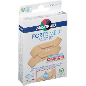 Master-Aid Forte Med Cerotto 2 Formati 20 Pezzi - Iltuobenessereonline.it