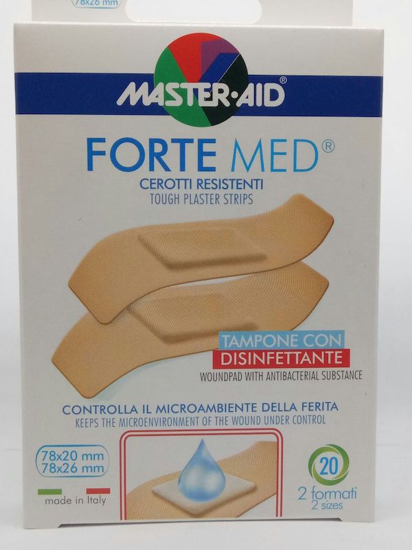 Master-Aid Forte Med Cerotto 2 Formati 20 Pezzi - Farmalilla
