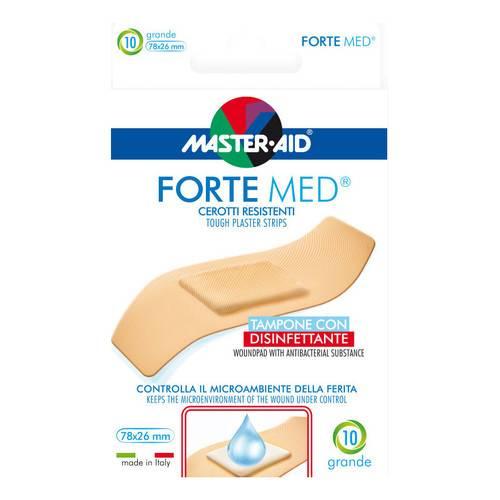 Master-Aid Forte Med Cerotto Grande 10 Pezzi - Arcafarma.it