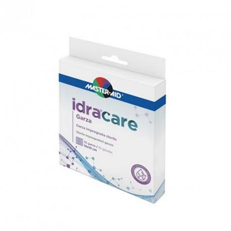MASTER AID IDRACARE GARZA IMPREGNATA 10X10 CM 10 PEZZI - Iltuobenessereonline.it