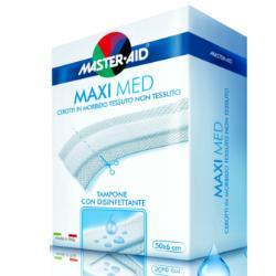 Master-Aid Maxi Med Cerotto Strisce Tagliate 50 x 6cm - Arcafarma.it