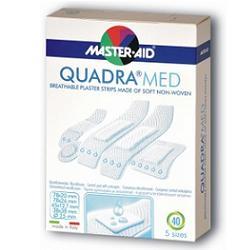 Master-Aid Quadra Cerotto Dermoattivo Formati Assortiti 40 Pezzi - Farmalilla
