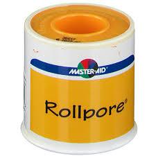MASTER-AID® ROLLPORE® CEROTTO IN TESSUTO NON TESSUTO M 5 X 5 CM - Iltuobenessereonline.it