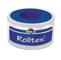 MASTER-AID® ROLLTEX® CEROTTO IN TELA DI RAYON VISCOSA COLORE BIANCO M 5 X 2,5 CM - Iltuobenessereonline.it