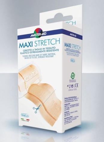 Master-Aid Stretch Cerotto a Taglio in Tessuto Elastico Resistente 50 x 6 cm - Farmalilla