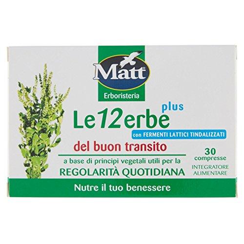 MATT LE 12 ERBE PLUS DEL BUON TRANSITO PLUS - Iltuobenessereonline.it