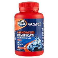 Matt Sport - Aminoacidi Ramificati BCAA con Vitamina B1 E B6 - Iltuobenessereonline.it