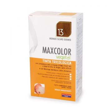 MAX COLOR VEGETAL TINTA BIONDO SCURO DORATO 13 140M - Iltuobenessereonline.it