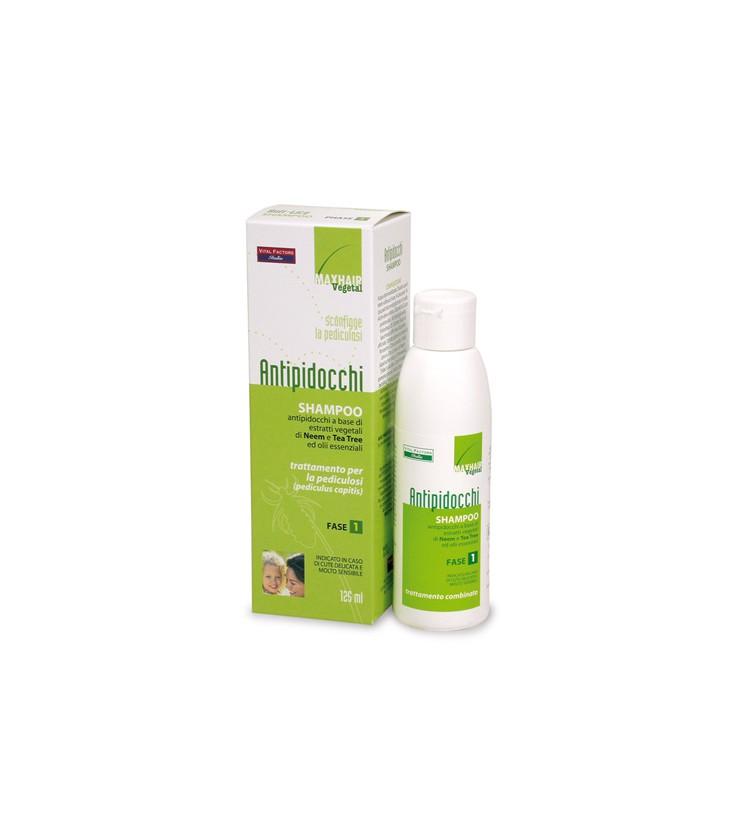 MaxHair Vegetal Antipidocchi Shampoo 125 ml  - Iltuobenessereonline.it