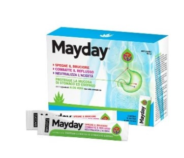 MAYDAY SOSPENSIONE PER USO ORALE ALLA MENTA 24 BUSTINE 10 ML - Farmafirst.it