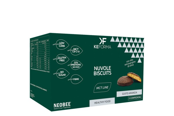 MCT NUOVE BISCUITS ARANCIA 3 PEZZI X 40 G - Farmapage.it