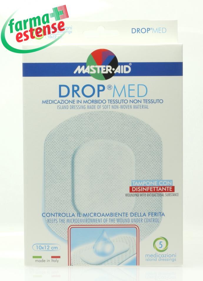 MEDICAZIONE ADESIVA MASTER-AID DROP MED 12,5X12,5 5 PEZZI - Farmawing