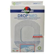 MEDICAZIONE COMPRESSA AUTOADESIVA DERMOATTIVA IPOALLERGENICA AERATA MASTER-AID DROP MED 10,5X15 5 PEZZI - farmaciafalquigolfoparadiso.it