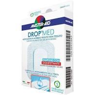 MEDICAZIONE COMPRESSA AUTOADESIVA DERMOATTIVA IPOALLERGENICA AERATA MASTER-AID DROP MED 10X12 5 PEZZI - farmaciafalquigolfoparadiso.it